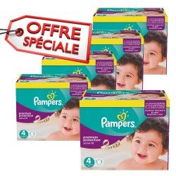 820 Couches Pampers Active Fit taille 4 sur Sos Couches