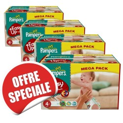 840 Couches de la marque Pampers Easy Up taille 4 sur Sos Couches