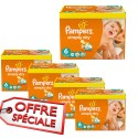 744 Couches Pampers Simply Dry 6 sur Sos Couches