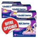 315 Sous-vêtements jetables Pampers Underjams - pour Filles taille S/M sur Sos Couches