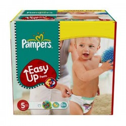 152 Couches Pampers Easy Up de taille 5 sur Sos Couches