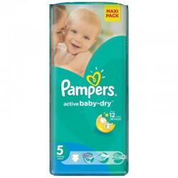 28 Couches Pampers de la gamme Active Baby Dry de taille 5 sur Sos Couches