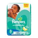 74 Couches Pampers Active Baby Dry 3 sur Sos Couches