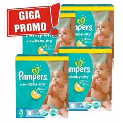 814 Couches Pampers Active Baby Dry 3