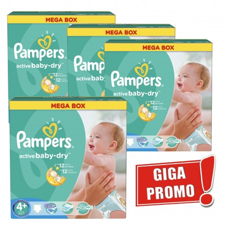 Achat 742 couches pampers active baby dry taille 4 en solde sur sos couches - Couche pampers en gros allemagne ...