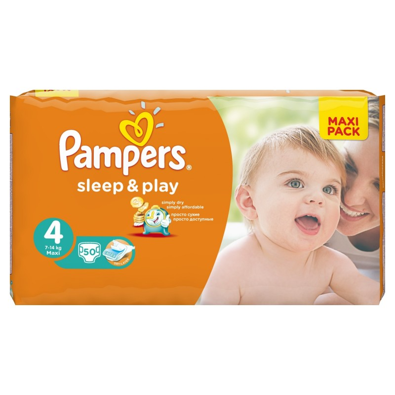 Achat 50 couches pampers sleep play taille 4 petit prix sur sos couches - Prix couche pampers allemagne ...