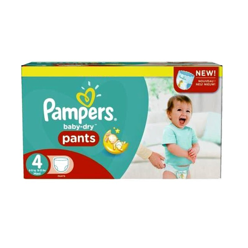 Achat 230 couches pampers baby dry pants taille 4 petit prix sur sos couches - Prix couche pampers allemagne ...