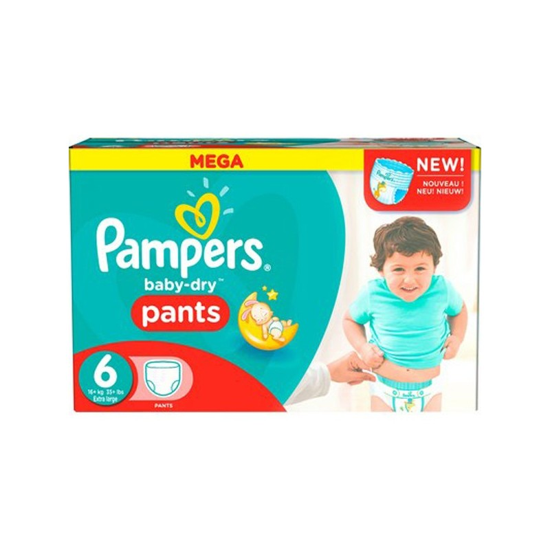 Achat 190 couches pampers baby dry pants taille 6 pas cher sur sos couches - Couches pampers baby dry ...