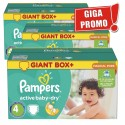 696 Couches Pampers Active Baby Dry taille 4 sur Sos Couches