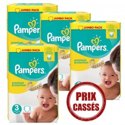 330 Couches Pampers Premium Protection 3