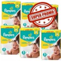 594 Couches Pampers Premium Protection 3 sur Sos Couches