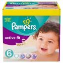 124 Couches Pampers Active Fit 6 sur Sos Couches