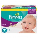 44 Couches Pampers Active Fit taille 4+ sur Sos Couches