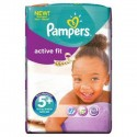 42 Couches Pampers Active Fit taille 5+ sur Sos Couches