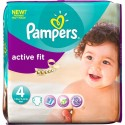 96 Couches Pampers Active Fit taille 4 sur Sos Couches