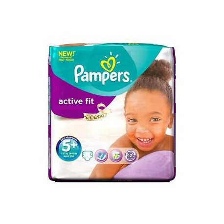 Achat 58 couches pampers active fit taille 5 bas prix sur sos couches - Couches pampers active fit taille 5 ...
