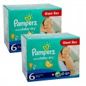 288 Couches Pampers Active Baby Dry 6 sur Sos Couches