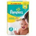 50 Couches Pampers Premium Protection taille 3 sur Sos Couches
