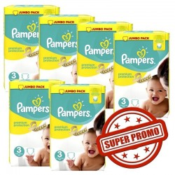 400 Couches Pampers Premium Protection taille 3