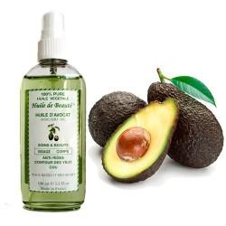 Huile de beauté Avocat 100% Naturelle pure et végétale