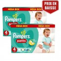 282 Couches Pampers Baby Dry Pants taille 4 sur Sos Couches