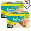 345 Couches Pampers New Baby taille 1 sur Sos Couches