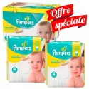 672 Couches Pampers Premium Protection - New Baby taille 4 sur Sos Couches