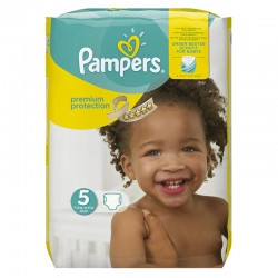68 Couches Pampers Premium Protection - New Baby taille 5