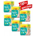224 Couches Pampers Baby Dry taille 7 sur Sos Couches