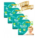 308 Couches Pampers Baby Dry taille 7 sur Sos Couches