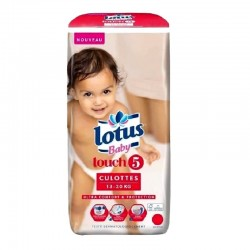 Pack 36 couches Lotus Baby Touch