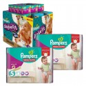 630 Couches Pampers Active Fit - Pants taille 5 sur Sos Couches