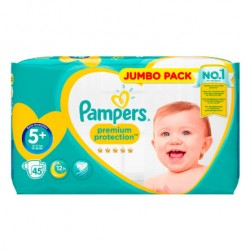 45 Couches Pampers New Baby taille 5+