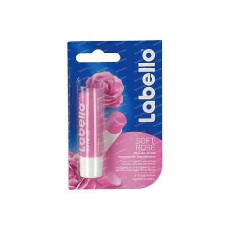 Labello Soins de Lèvres 4,8 gr Soft Rose sur Sos Couches