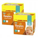 415 Couches Pampers Sleep & Play taille 3 sur Sos Couches
