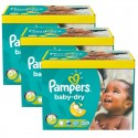 308 Couches Pampers Baby Dry taille 5+ sur Sos Couches