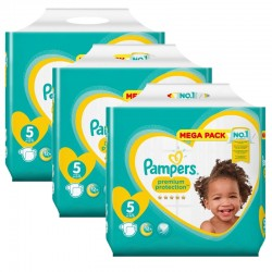210 Couches Pampers New Baby - Premium Protection taille 5