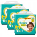 210 Couches Pampers New Baby - Premium Protection taille 5 sur Sos Couches