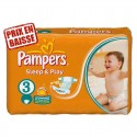 83 Couches Pampers Sleep & Play taille 3 sur Sos Couches