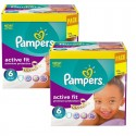 240 Couches Pampers Active Fit - Premiun Protection taille 6 sur Sos Couches