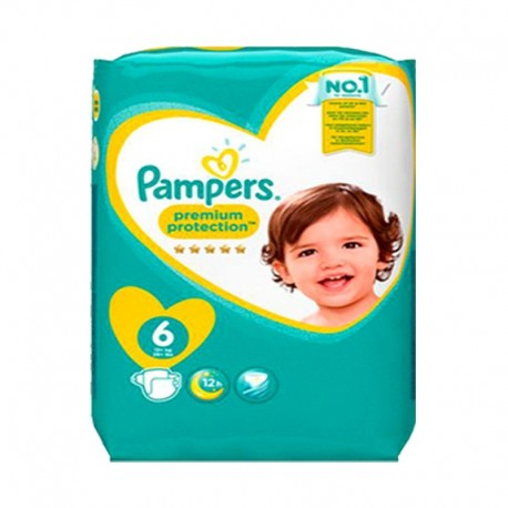 56 Couches Pampers New Baby - Premium Protection taille 6 sur Sos Couches