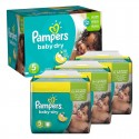 288 Couches Pampers Baby Dry taille 5 sur Sos Couches