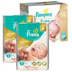 242 Couches Pampers Premium Care - Prima taille 2