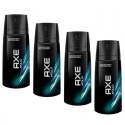 4 Deodorants Axe Bodyspray Apollo sur Sos Couches
