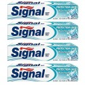 4 Dentifrices Signal Protection Caries Blancheur sur Sos Couches