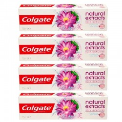 4 Dentifrices Colgate Natural Extracts Soin Gencives