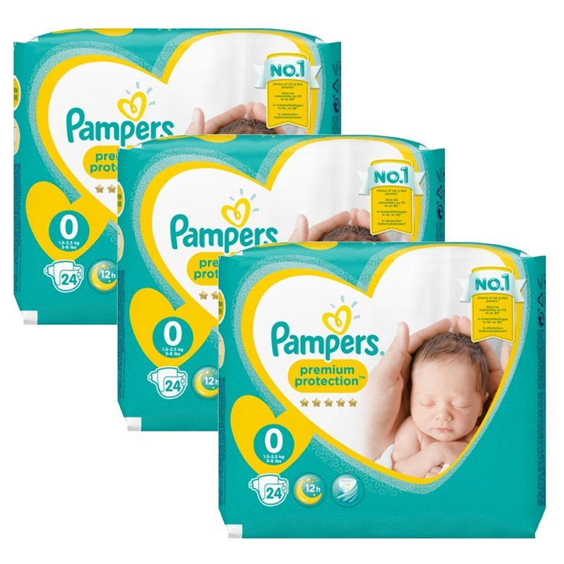 Achat 72 couches pampers new baby taille 0 petit prix sur sos couches - Prix couche pampers allemagne ...