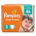 58 Couches Pampers Sleep & Play taille 5 sur Sos Couches