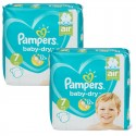 115 Couches Pampers Baby Dry taille 7 sur Sos Couches
