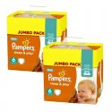 210 Couches Pampers Sleep & Play taille 6 sur Sos Couches